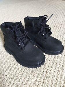 New Timberland Kids Shoe Size 7 Black