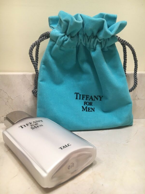 Tiffany for Men TALC 3.52 oz Made in USA for Tiffany and Company New with Bag