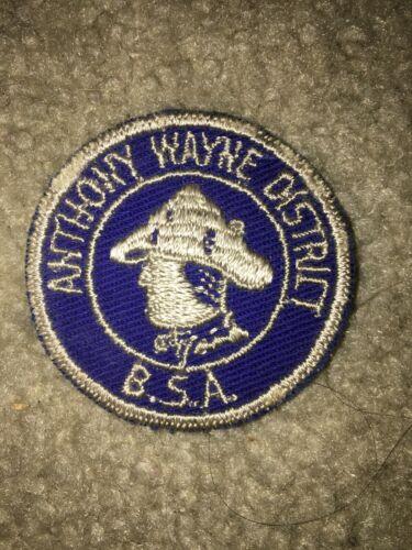 Boy Scout BSA Toledo Area Ohio Anthony Wayne District DP CP Council Patch