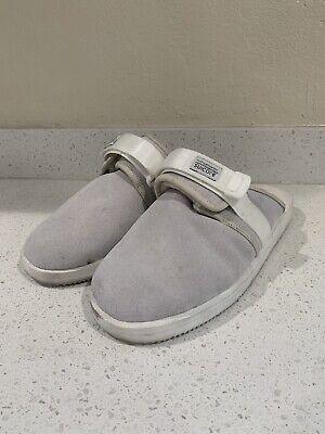Suicoke Sandals ZAVO M2AB Gray Grey SIZE 12US White Fur Not Visvim
