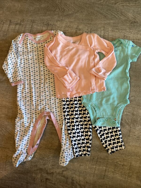Baby Girl Carters 4pc Lot, Size 3months, Sooo Adorable!