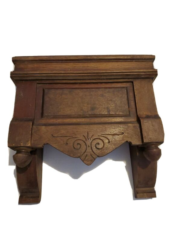 Antique Wooden Architectural Salvaged Decor Reclaimed Wood Interior Design 1800s