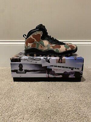 Nike Air Jordan X Retro Camo Size 12