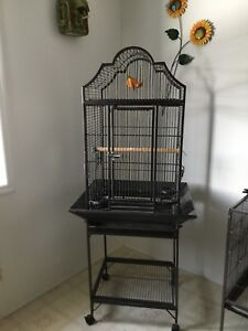 7 Bird cages.  All in great condition.