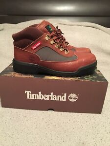 Supreme x Timberland Field Boot Collaboration