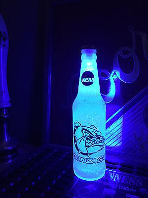 Ncaa Gonzaga Bulldogs Basketball 12Oz Bottle Light Led March Madness
