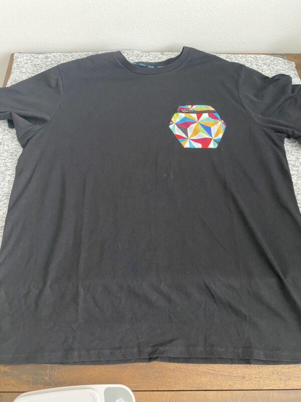 S - 2X Disney Parks 2021 Epcot Color Zipper Pocket T-Shirt Spaceship Earth Shirt