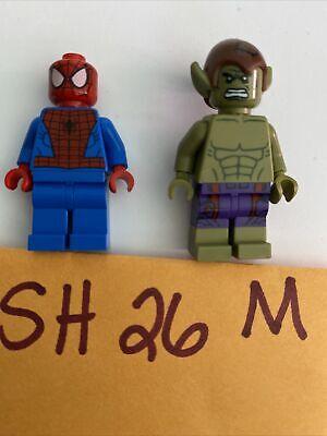 LEGO SPIDER-MAN figure minifigure 76115 76114 spiderman marvel Green Goblin