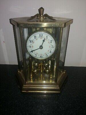 Vintage, Hall Craft Corp, Rex, Lantern Type Anniversary Clock. Working Order.