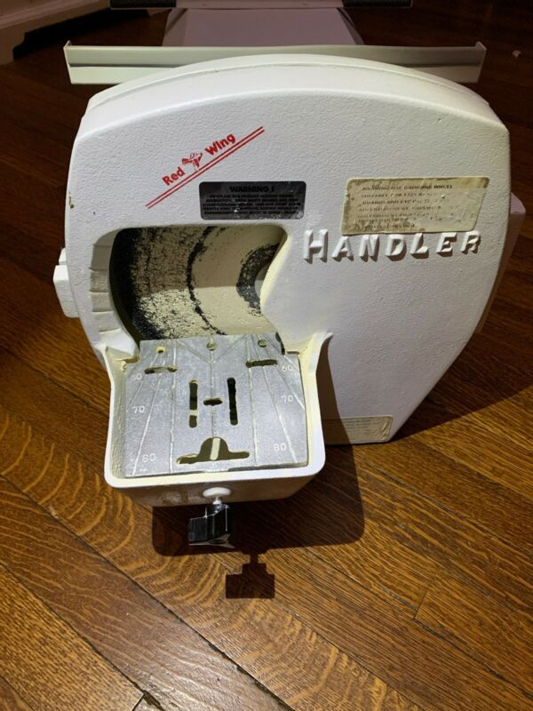 """Red Wing Handler Model No. 31 Dental Lab Wet Model Trimmer Wheel Grinder 10"""""""