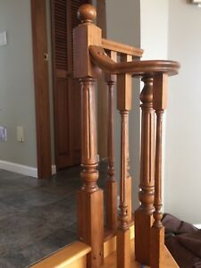 Wood banisters for sale