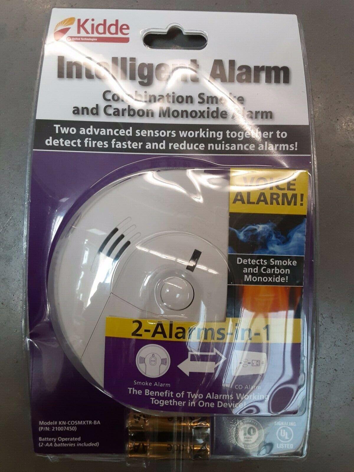 Kidde Intelligent Alarm Smoke And Carbon Monoxide Alarm - $23.00