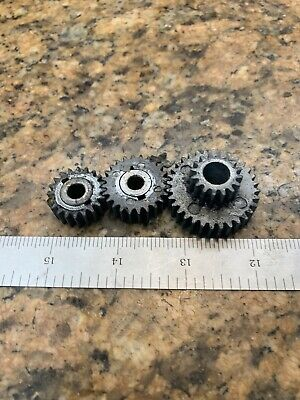 Atlas Craftsman 6 618 102 Metal Lathe Drive Gear Set J245
