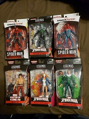 Spider-man Marvel Legends Demogoblin BAF Set of 6 Figures SEALED NEW!!