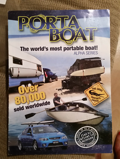 Porta-Boat and  4 KW Tohatsu Outboard motor