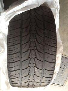 2 pneus haute performance 295/30/22