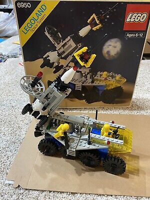 Vintage (1982) LEGO Space Classic Mobile Rocket Transport (6950) - Complete Set