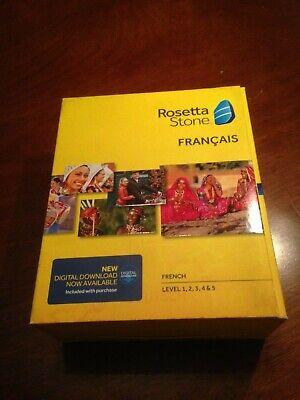 Rosetta Stone V4 TOTALe: French Level 1-5 Set for PC, Mac, 1, 2, 3, 4, 5 (Rosetta Stone Pc)