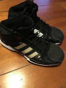 Woman's Adidas Basketball Sneakers - size 9