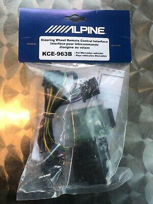 Alpine KCE-963B Lenkradfernbedienungsadapter Can Bus Mercedes CLS E 219 211 171