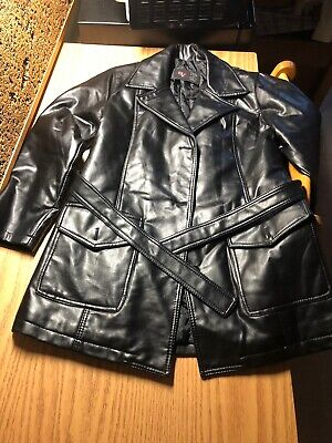 GV HAND MADE IN ITALY Women's Black Soft Leather Jacket