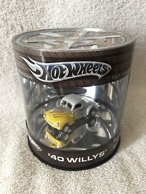 2004 Hot Wheels Yellow 40 Willys Oil Can Street Hot Rod Ltd Ed READ