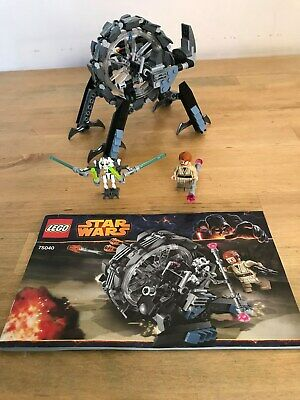 Lego Star Wars 75040 - General Grievous' Wheel Bike (Unboxed)