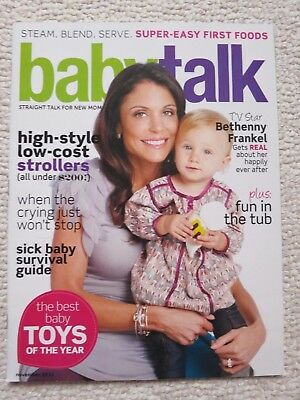 Babytalk Magazine November 2011 Bethenny Frankel Gets Real About Happily Ever
