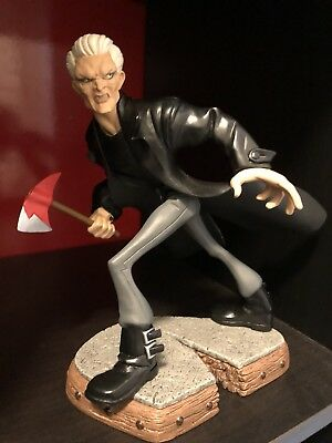Buffy The Vampire Slayer Tooned Up Spike Electric Tiki Statue Figure Btvs