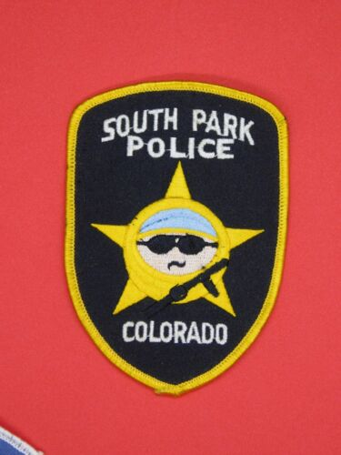 SOUTH PARK POLICE PATCH COLORADO -  FREE SHIPPING