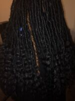 FAUXLOCS AND PROTECTIVE STYLING DONE IN FOUR HOURS OR LESS!