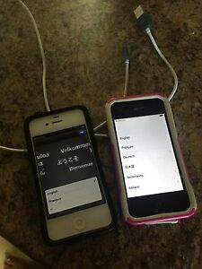 2 iphone 4. 8GB. Tbaytel *sale pending*
