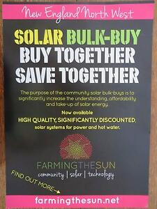 Community Bulk-Buy of Solar Power Systems Tamworth Tamworth City Preview