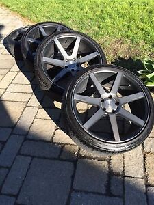 20 '' Mags Infiniti G37 Niches / Vibe
