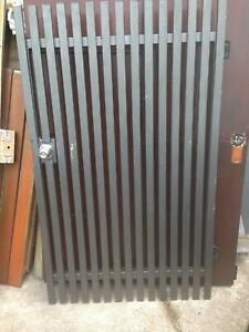 Gate and 2 panels aluminium slatted Tewantin Noosa Area Preview