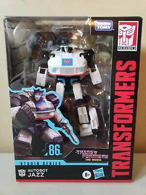 Transformers The Movie Studio Series Deluxe Class Jazz 1986 Movie 86-01 IN STOCK
