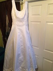 Imperial style wedding gown fits 14