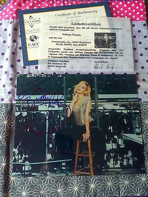 Autogramm / Autograph † Brittany Murphy † mit COA / Zertifikat † Handsigniert