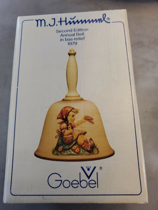 1979 Hummel Goebel SECOND EDITION ANNUAL BELL in Original box, Germany, Vintage