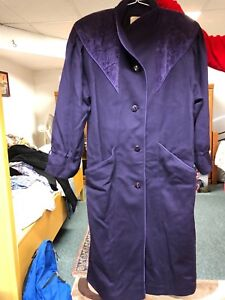 Women's purple coat