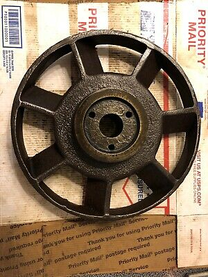 Associated Pony Hit Miss Stationary Engine Flywheel No Hub