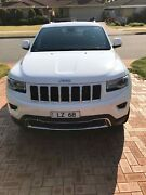 2015 Jeep Grand Cherokee Wk MY15 limited (4×4) White 8 Speed Automatic Myaree Melville Area Preview