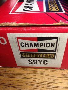 S9YC Champion Spark Plugs Full box Oatley Hurstville Area Preview