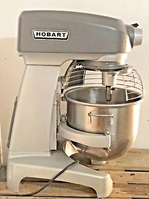Hobart Hl200 20 Qt Stand Dough Mixer Wbowl Cage Guard
