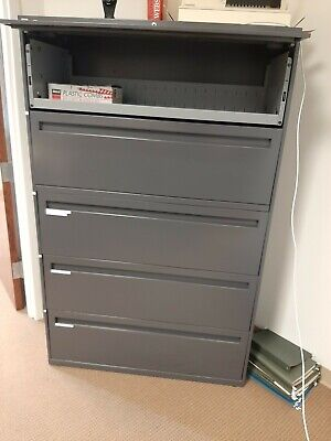 HON COMPANY 785LS 700 Series Five-drawer Lateral File W/roll-out.
