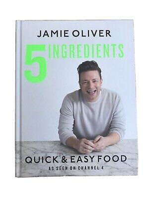 5 Ingredients - Quick & Easy Food by Jamie Oliver (Hardback, 2017)
