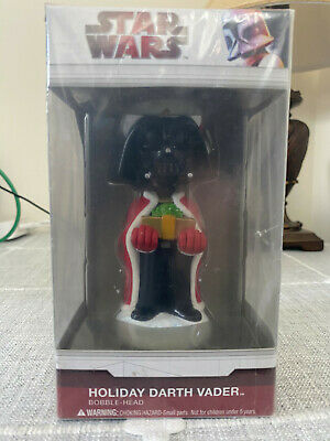 Funko Star Wars - Holiday Darth Vader Bobble-Head Christmas New In Unopened Box
