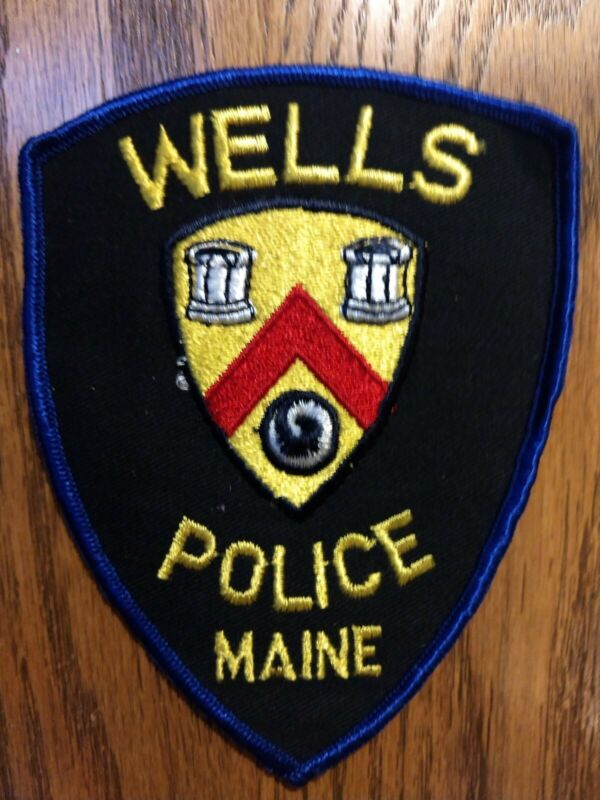 Wells Police (Maine) Shoulder Patch - New