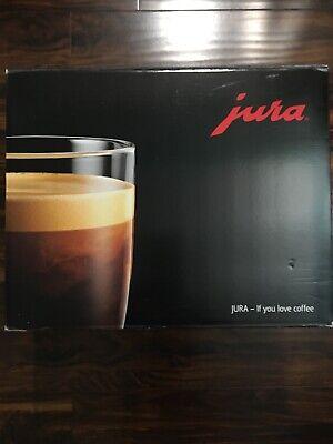Manufacturer New Jura D6 Fully Automatic Coffee Machine in Platinum Model 15216