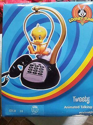 Looney Tunes Tweety Silvester Telefon mit Animation, Geschenkartikel NEU OVP